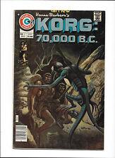 KORG: 70,000 B.C. #4  [1975 VG-FN]  PAT BOYETTE STORY!