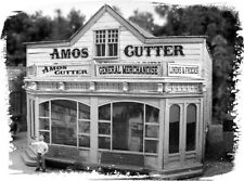 BAR MILLS 462 HO Amos Cutter's General Store - Laser Cut Kit - MODELRRSUPPLY-COM
