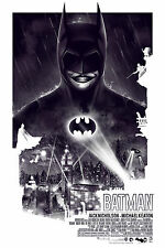 Batman 1989 Tim Burton Alternative Movie Poster Patrick Connan No. /100 NT Mondo