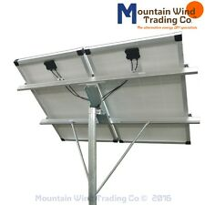 Top of Pole Mounting Rack for (2) 100 watt solar panels