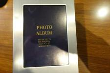 Stainless Steel PHOTO FRAME ALBUM  HOLDS 100 PHOTOS, GIFT IDEA.