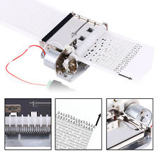 30Notes DIY Tape Automatic Music Box Movement+ Puncher+ 3 Strips for Your Songs