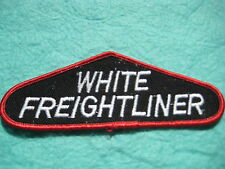 "Vintage White Freightliner Diesel Trucks Patch 5 3/8 "" X 2"""
