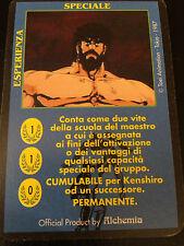 Carte Ken Il Guerriero - Speciale- Esperienza -Gioco di Carte