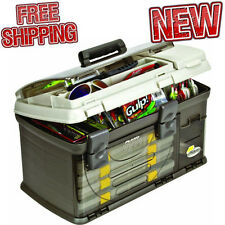 Fishing Tackle Box Outdoor Compartment Full Storage Camping Store Bait Lure Rod