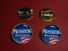 Mossberg Shotguns  /  Firearms (New Design) Silver & Gold Plated PIN Badges