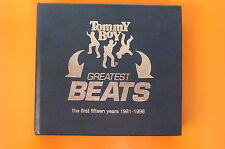 BOY TOMMY GREATEST BEATS 1981 - 1996 BOX 2 CD + INSERTO