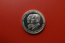 * Medalla de plata 1970 aprox. 15g. (999) * w. Brandt y w. Stoph (Lmpulso 21)