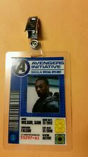 Avengers Initiative ID Badge -Sam Wilson Falcon Cosplay prop costume