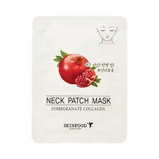 SKINFOOD Pomegranate Collagen Neck Patch Mask - 3pcs