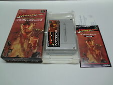 Indiana Jones Greatest Adventures + Reg Card VGOOD