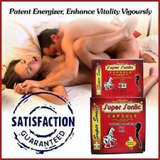 100% Ayurvedic Super Sonic Sex Power Booster Capsules For MEN