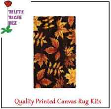 Autumn leaves Latch Hook Rug Kit Large size - *NEW* everything included