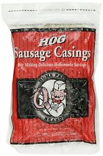 Hog Home Pack Sausage Casings 32mm (8oz.) from DeWied, Resealable pouch AOI