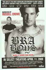 BRA BOYS Movie POSTER 27x40 Russell Crowe Kelly Slater Cheyne Horan Jack
