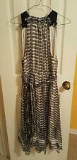L'AGENCE Silk Chiffon Printed Dress Size 4