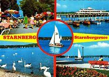 Starnberg , Starnbergersee , Ansichtskarte ,  gelaufen