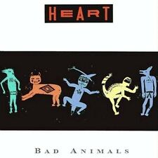 "HEART ""BAD ANIMALS"" (BRAND NEW@ STILL SEALED LP!) (MINT)"