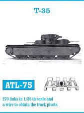 1/35 ATL75 FreeShip FRIULMODEL TRACKS for  SOVIET T-35 for HOBBY BOSS 83841
