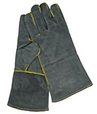 MANOR Fireside, Stove Gauntlet Heat Gloves For Open Fires Woodburners BBQ Hot