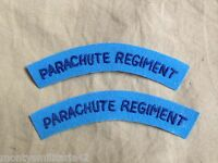Excellent WW2 British Army Parachute Regiment Battledress Cloth Shoulder Titles