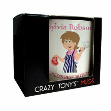Personalised  Butcher Gifts For Women, Lady Butchers Mug, Crazy Tony's, Design 1