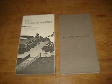 On a River Boat Journey Ito Jakuchu/ Daiten,1ST EDITION THUS 1989 H/B/ SLIPCASE