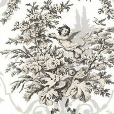 Victorian Cherub Floral Wallpaper CH22542  DOUBLE Roll