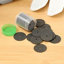 36 Discs Black Cut Off Wheels 24mm Reinforced 1 Tube Hole 2mm for Dremel Rotary