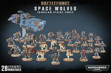 [S] Battleforce: Space Wolves Ironclaw Strike Force - Games Workshop miniatures