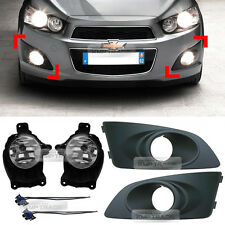OEM Genuine Parts Front Fog Light Lamp + Cover for Chevrolet 2011 - 2016 Aveo
