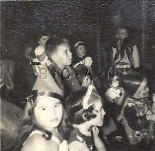 Original Vintage 40s Halloween Party- RP- Comic- Costumes- Clown- Cowboy- 1949