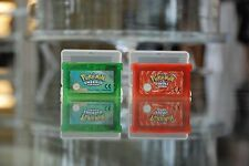 Brand New Pokemon Emerald and Fire Red Gameboy Game