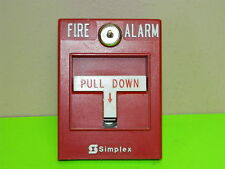 SIMPLEX 2099-9754 MANUAL FIRE ALARM PULL STATION NON-CODED NON ADDRESSABLE