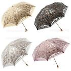 New Women Multifunction/Anti UV/Vintage Lace two folding Umbrellas/Parasol
