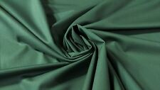 "DARK TEAL GREEN CANVAS TWILL 7 OZ. 65""W POLY COTTON FABRIC APPAREL UPHOLSTERY"