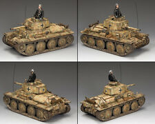 """KING AND COUNTRY WW2 """"Pz.Kpfw38(t)"""" Tank WSS225 WS225"""