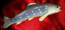 BING and GRONDAHL Speckled TROUT 'B&G 1803 AN' Dahl Jensen + FREE Mermaid Dish