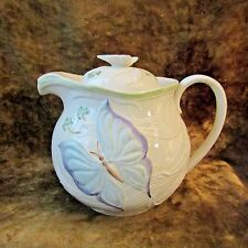 Belleek 12th Anniversary Show Limited Edition Tea Pot May 2006/Butterfly/NICE!!
