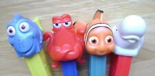 NEW 2016 EUROPEAN PEZ MINT LOOSE SET OF 4 DISNEY PIXAR FINDING DORY
