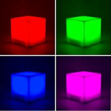 Mood Cube Colour Changing LED Desk Lamp Mood Light Portable Kid's Nightlight