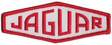 Jaguar old style XK120 140 150 etc embroidered patch