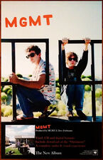 MGMT Self-Titled 2013 Ltd Ed RARE New Poster +FREE BONUS Indie Rock Poster! S/T