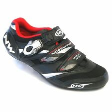 Northwave Vertigo Pro SBS Men's Road Cycling Shoes Black / White / Red EU 40.5