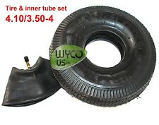 TIRE AND INNER TUBE SET, 4.10/3.50-4, 4.10X3.50-4, SNOW BLOWERS,PRESSURE WASHERS