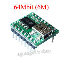 JQ650 64Mbit Mini U-disk Audio Player TF Card MP3 Sound Voice Module Arduino