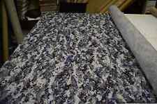"""NAVY BLUE DIGITAL STEALTH PXL IQC NY/CO RIPSTOP CAMOUFLAGE FABRIC MILITARY 62""""W"""