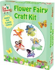 FLOWER FAIRY Craft KIT-per bambini ragazze Fata Making CREATIVE SET REGALO DI COMPLEANNO