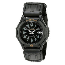 NUOVO Casio FORESTER Orologio Analogico 3-hand Display & Data Nero ft500wc / 1bver