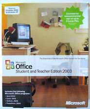 Microsoft Office Student and Teacher Edition 2003